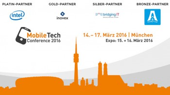 MobileTech - mobile technologys and innovations conference in Munich, 2016