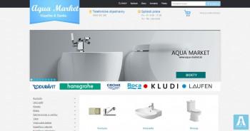 AQUA MARKET - Internet plumbing shop in Slovakia