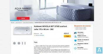 AQUA MARKET - интернет магазин сантехники в Словакии