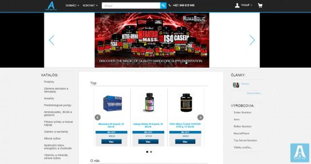 Atlet-sport - интернет-магазин спортивного питания в Словакии
