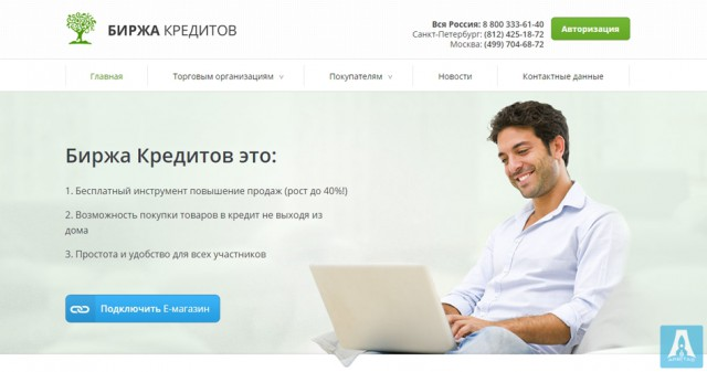 Credit market - russian loan service