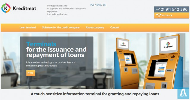 Kreditmat.com - Sale terminals for lending in Europe.