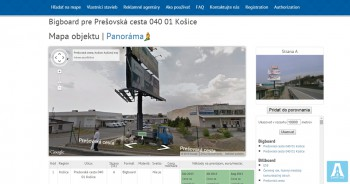 Reklama-city.sk - аренда рекламных плоскостей в Словакии